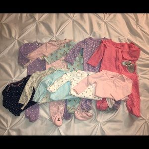 10 items bundle 9 months for baby girl
